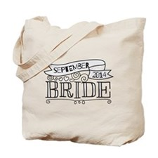 Bride 2014 September Tote Bag