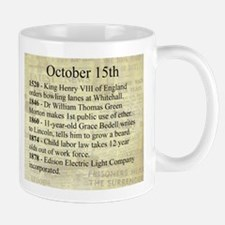 October 15th Mugs