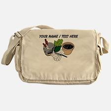 Custom Gardening Tools Messenger Bag