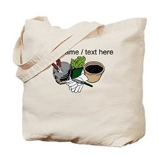 Custom Gardening Tools Tote Bag