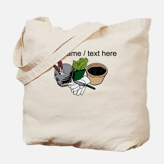Custom Gardening Tools Tote Bag