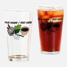 Custom Gardening Tools Drinking Glass