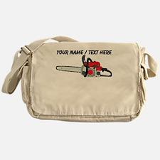 Custom Chainsaw Messenger Bag