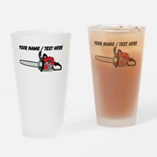 Custom Chainsaw Drinking Glass