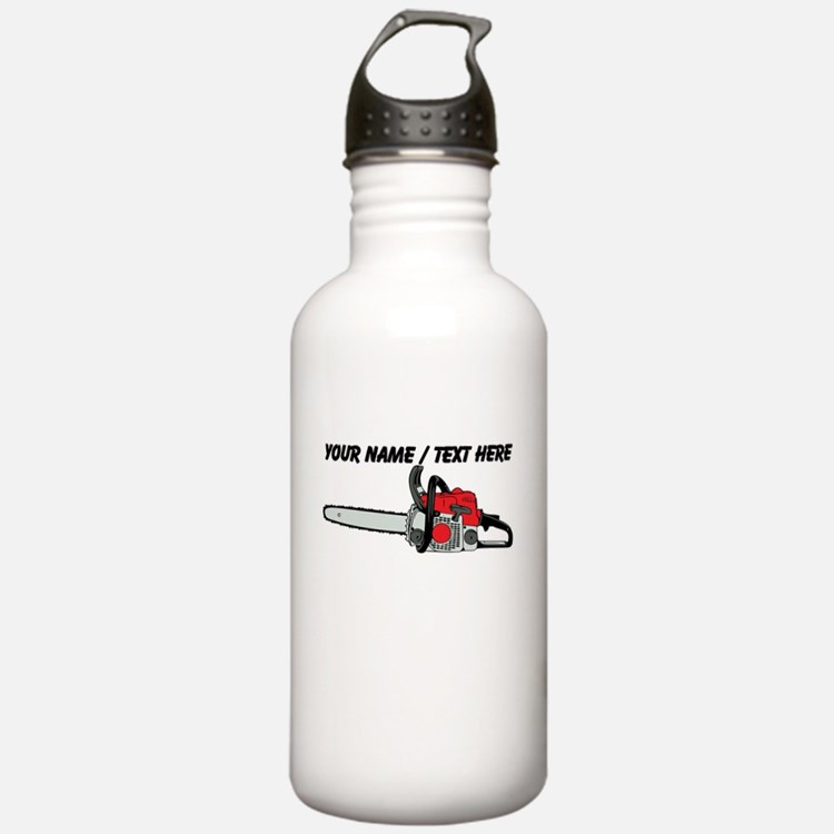 Custom Chainsaw Water Bottle