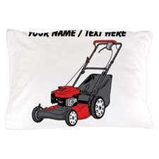 Custom Red Lawnmower Pillow Case