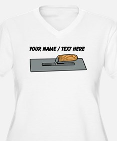 Custom Concrete Finishing Trowel Plus Size T-Shirt