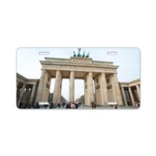 Brandenburg gate Aluminum License Plate