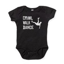 Crawl Walk Dance Baby Bodysuit