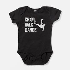 Crawl Walk Dance Baby Bodysuit