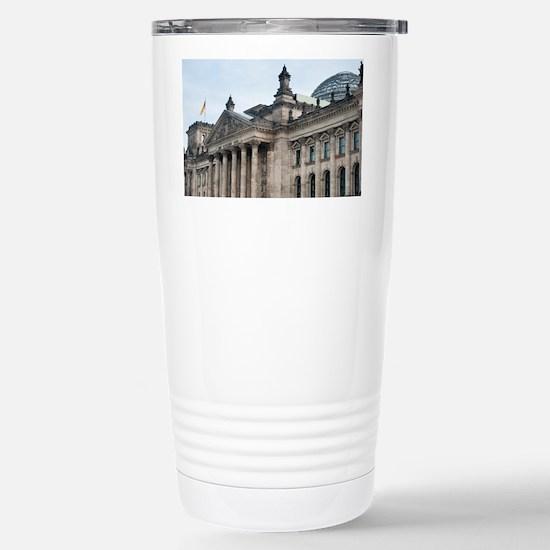 dem deutschen volke Stainless Steel Travel Mug