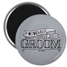 Groom 2014 November Magnets