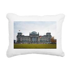 reichstag facade Rectangular Canvas Pillow