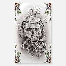Tatts Sticker (Rectangle)