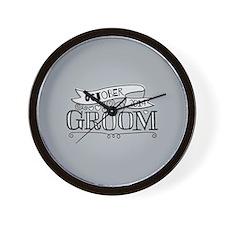 Groom 2014 October Wall Clock