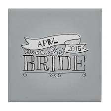 Bride 2015 April Tile Coaster