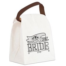 Bride 2015 April Canvas Lunch Bag