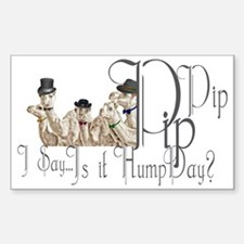 Top Hat Monocle Camels for Hum Decal