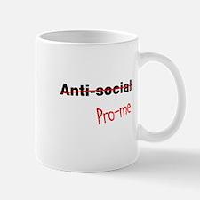 Not Anti-Social Pro-Me Mug