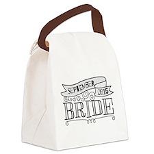 Bride 2015 September Canvas Lunch Bag