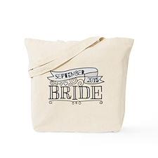 Bride 2015 September Tote Bag