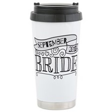 Bride 2015 September Travel Mug