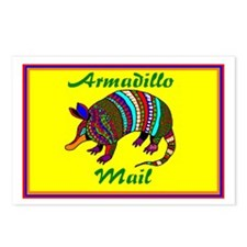Armadillo Mail Post6by4 Postcards (package Of 8)