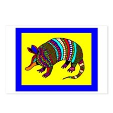 Armadillo Design By David Postcards (package Of 8)