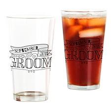 Groom 2015 September Drinking Glass