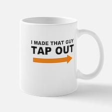 Funny Tap Out Mug Mugs