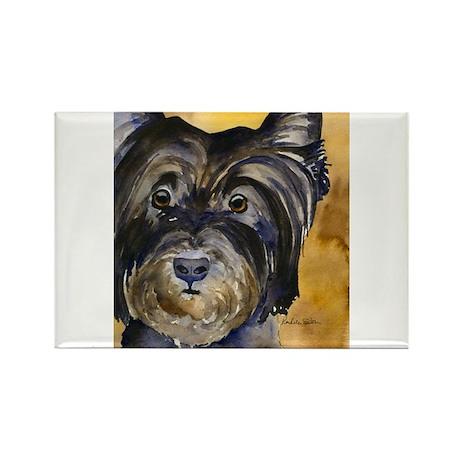 Cairn Terrier Rectangle Magnet (10 pack)
