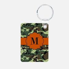 Camo Monogram Keychains
