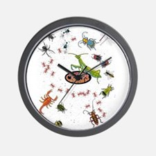 Cute Insect Wall Clock
