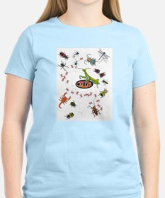 Cute Bugs and insects T-Shirt
