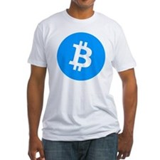 Bitcoin (Cyan Blue) Shirt