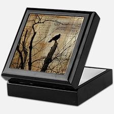 Crow Collage Keepsake Box