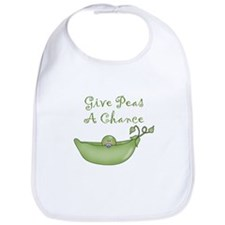 Give Peas A Chance Bib