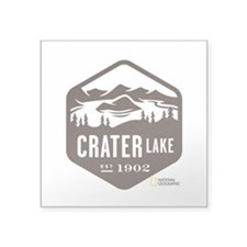 "Crater Lake Square Sticker 3"" x 3"""