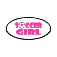 Soccer Girl Pink Patches