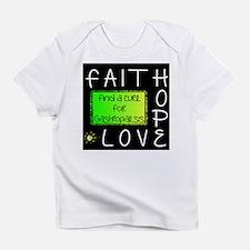 Faith, Hope, Love, Cure Infant T-Shirt