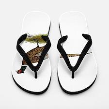 Ringneck Pheasant Afield Flip Flops