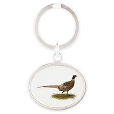 Ringneck Pheasant Afield Keychains