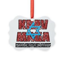 Israeli Krav Maga Magen David Ornament