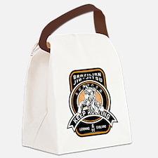 Cute Grappling Canvas Lunch Bag