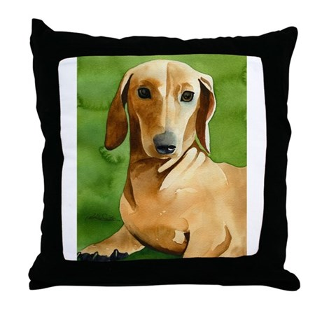Dachshund Stuff! Throw Pillow