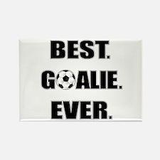 Best. Goalie. Ever. Rectangle Magnet