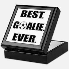 Best. Goalie. Ever. Keepsake Box