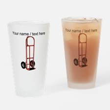 Custom Hand Truck Drinking Glass