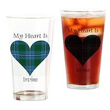 Heart - Irvine Drinking Glass