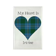 Heart - Irvine Rectangle Magnet